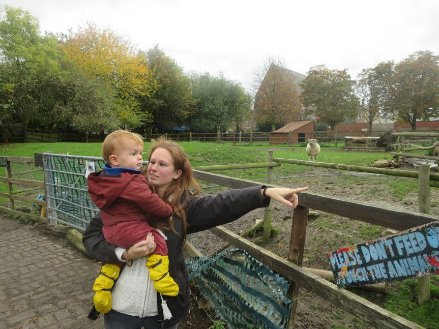 Family Visit to Hackney City Farm
