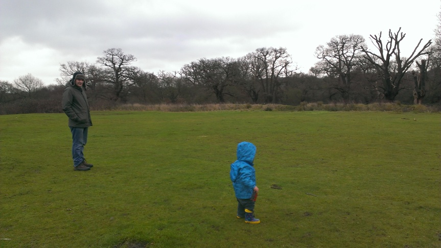 Family Visit to EppingForest